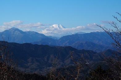 高尾山からの風景