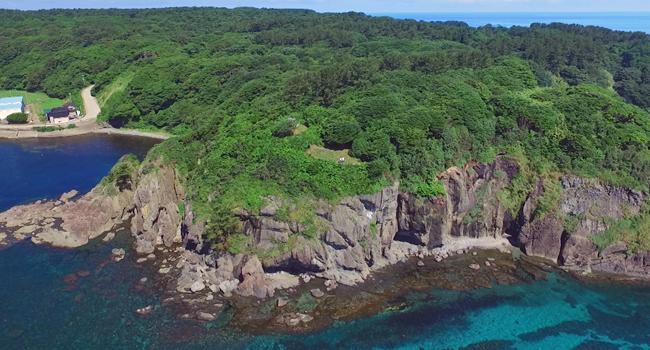 日本海の離島・飛島1