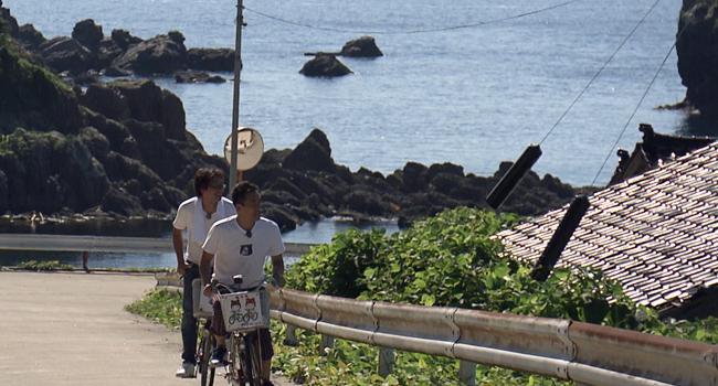 島を自転車でぶらり